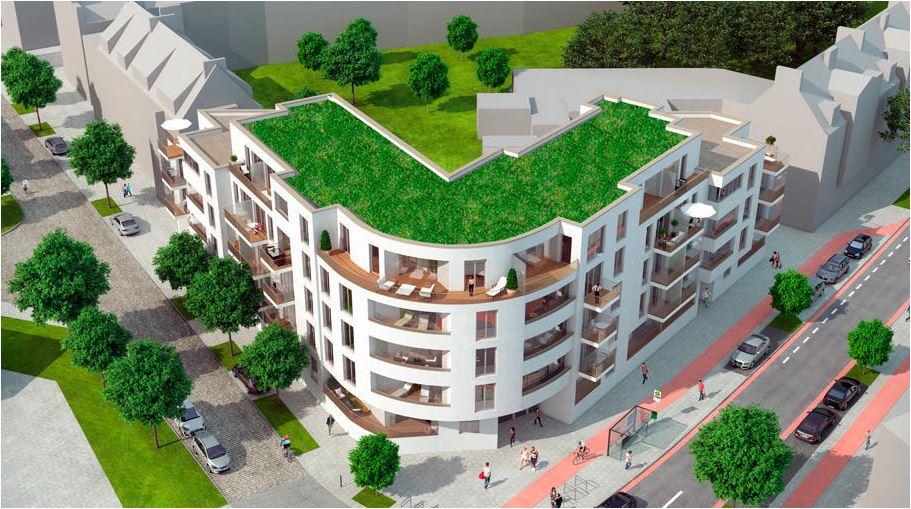 In Bremen wird auch mit Gründächern gebaut
