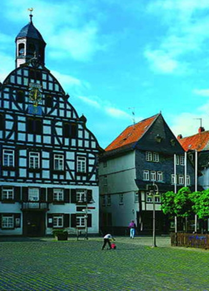 Altstadtsanierung in Butzbach