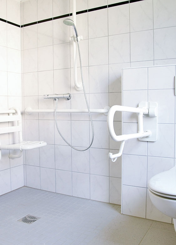 Barrierefreie Badezimmer