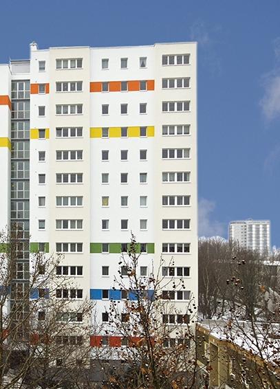 60er-Jahre-Hochhaus Prinzenstraße 97