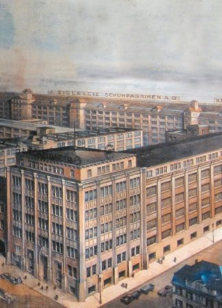 Salamander Schuhfabrik um 1930