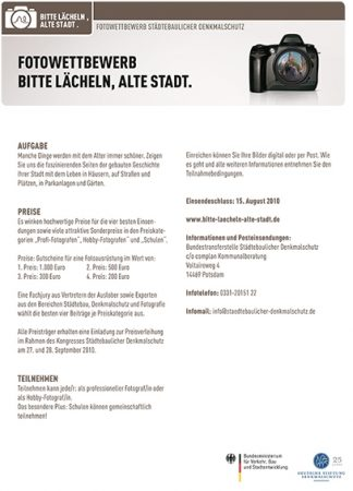 Bundesweiter Fotowettbewerb