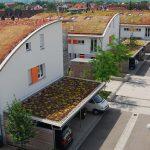 Siedlung in Freiburg; allle Fotos optigrün
