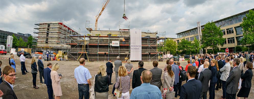 EBZ feiert Richtfest f++r sein neues Schulungs- und Forschungszentrum_EBZ