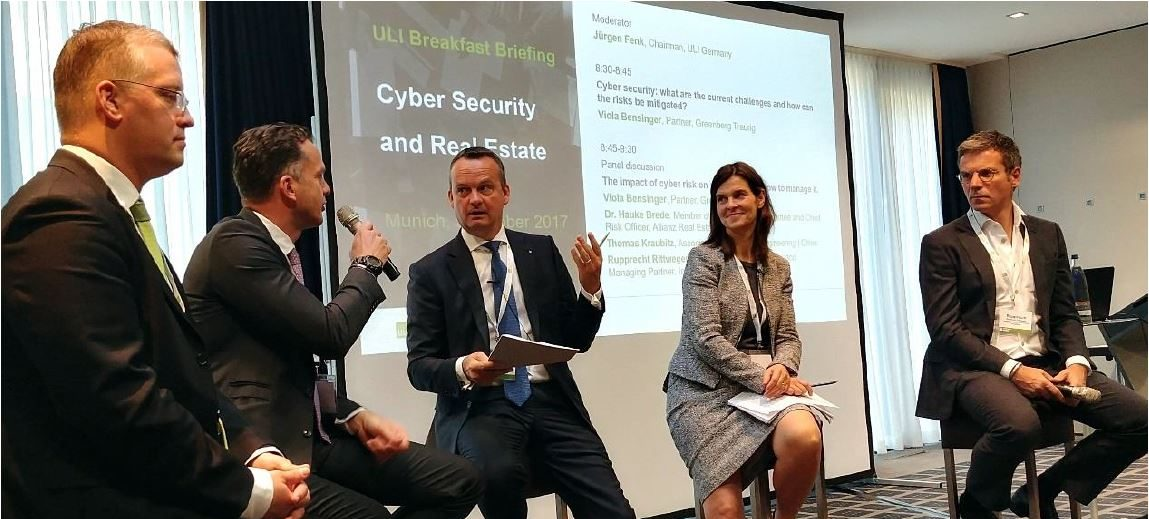 ULI Breakfast Briefing: Cyberkriminalität - ein Risiko für die Immobilienbranche