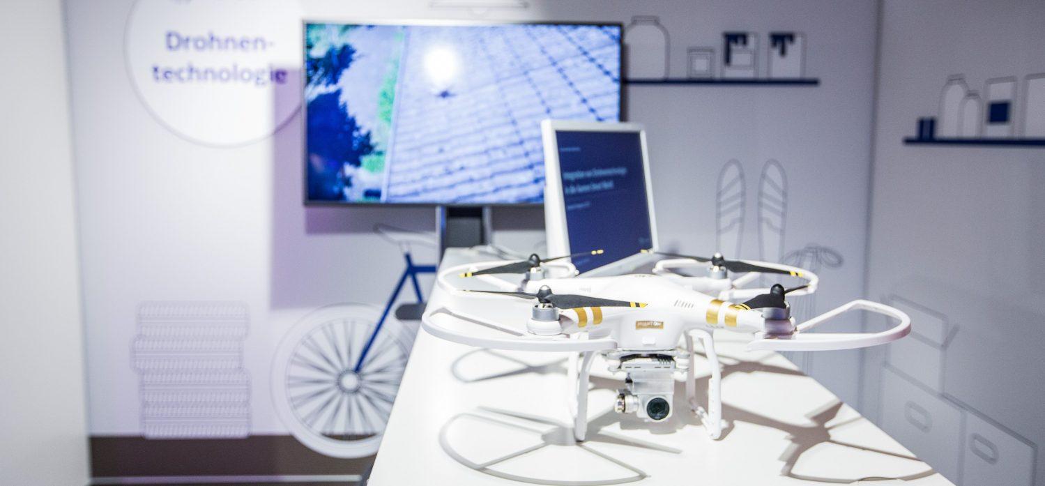 Dächer, Flachdächer, Bäume werden sicherer - Drohnen im Einsatz bei Verkehrssicherheitskontrollen