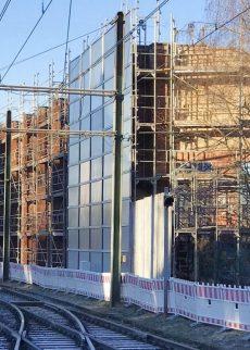 Rostock - Heinkelwand wird abgebrochen