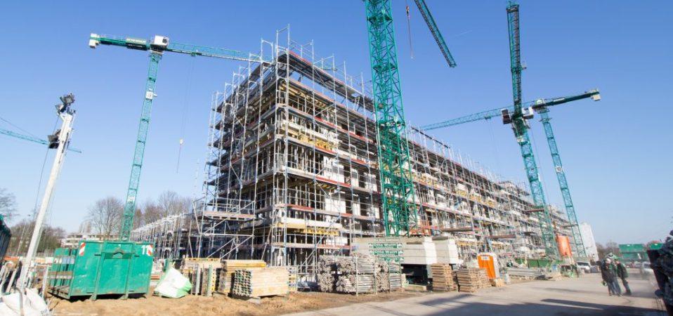 Baugenossenschaft freier Gewerkschafter: Mega- Bauprojekt in Groß Borstel