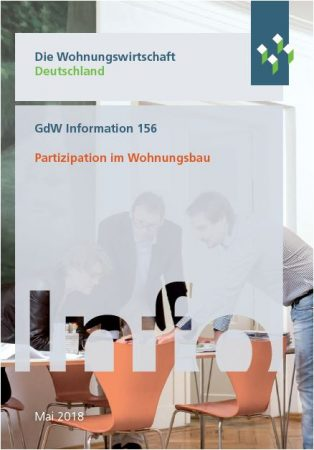 Partizipation im Wohnungsbau – GdW veröffentlicht Broschüre mit Erfahrungsberichten aus der Praxis