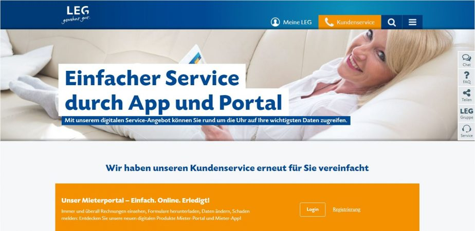Mehr Service, weniger Aufwand – die LEG Immobilien AG geht mit der CRM-App von Aareon