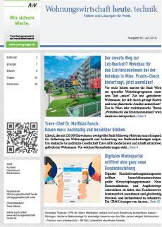 Wohnungswirtschaft heute. technik AG89