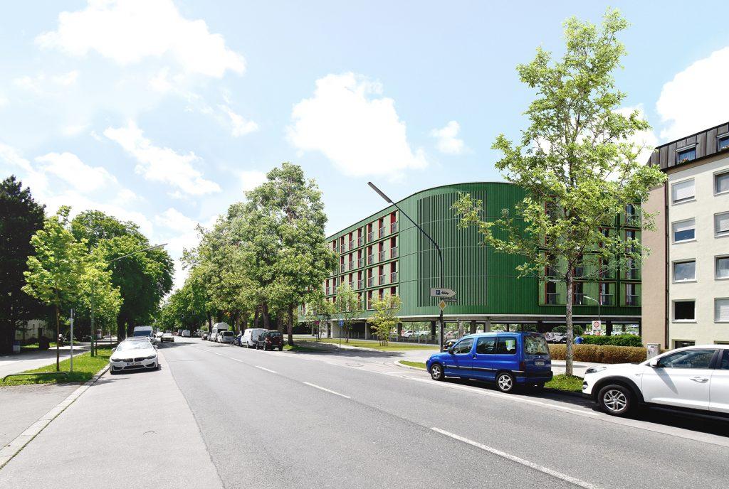 Gewofag München stellt weitere Parkplatzüberbauung vor
